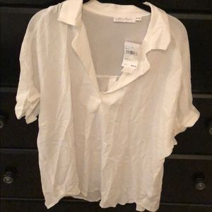 Tops - White Blouse NWT